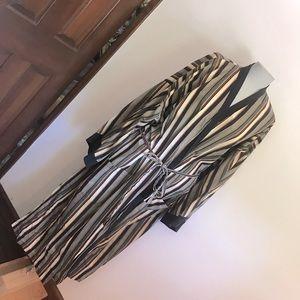 LAST CHANCE Vintage cotton men's striped robe